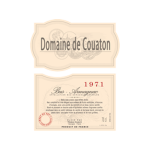 Domaine de Couaton 1971 0,7LTR